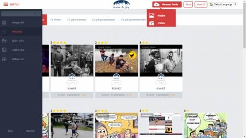 Video Resim Paylaşma Yazılımı Yarışma