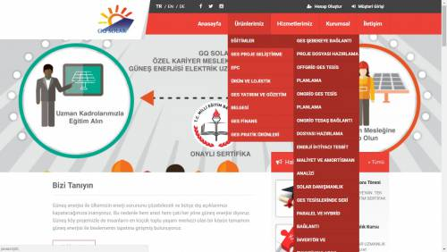 Kurumsal Php Web Sitesi