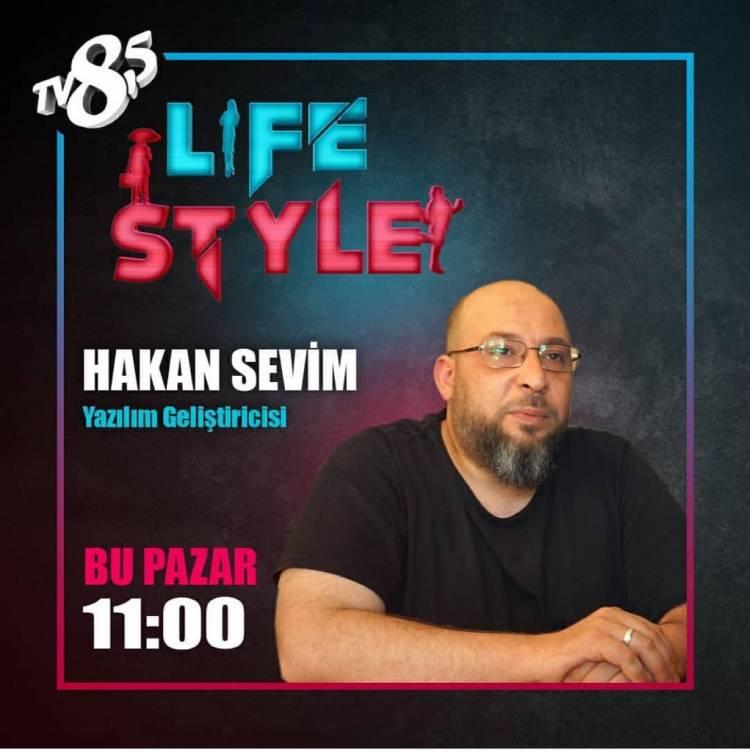 Konuk olduğum Life Sytle Programı Tv 8.5 Pazar 11 :00 da Ekranlarda