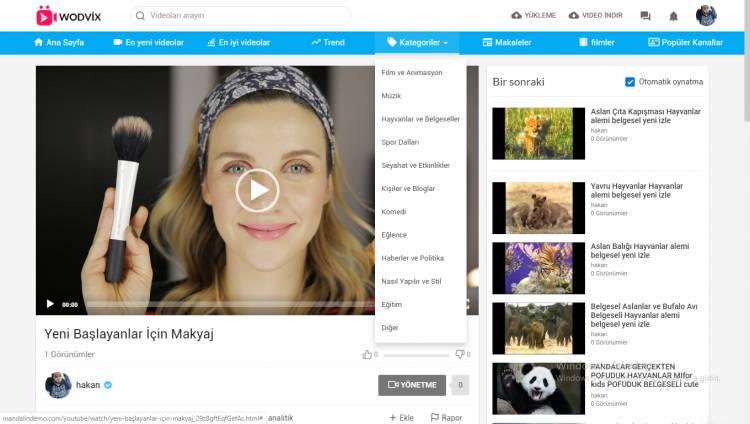 Youtube Benzeri Video Paylaşım Yazılımı